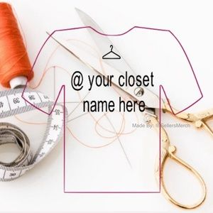 *Add On* Your Closet Name On The Back Of Our Tee